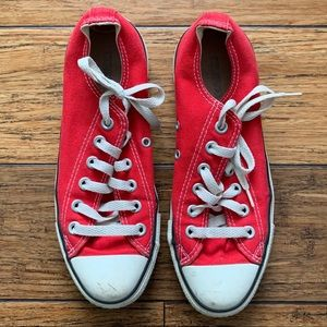 Red Converse - Chuck Taylor Sneakers